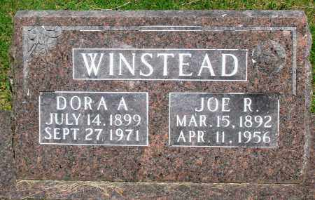 WINSTEAD, JOSEPH R - Boone County, Arkansas | JOSEPH R WINSTEAD - Arkansas Gravestone Photos