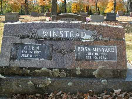 WINSTEAD, POSA - Boone County, Arkansas | POSA WINSTEAD - Arkansas Gravestone Photos