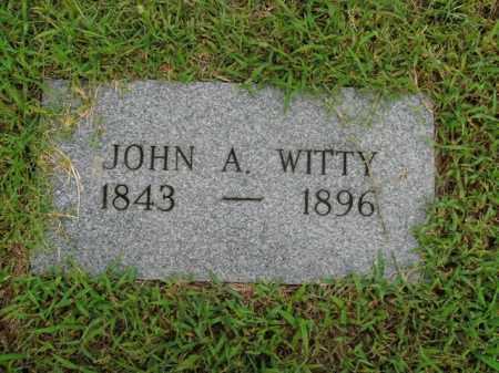 WITTY, JOHN A. - Boone County, Arkansas   JOHN A. WITTY - Arkansas Gravestone Photos