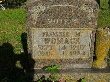 WOMACK, FLOSSIE M. - Boone County, Arkansas | FLOSSIE M. WOMACK - Arkansas Gravestone Photos