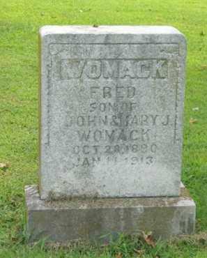 WOMACK, FRED - Boone County, Arkansas   FRED WOMACK - Arkansas Gravestone Photos