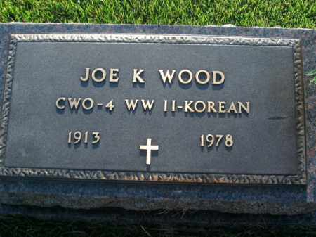 WOOD  (VETERAN 2 WARS), JOE K - Boone County, Arkansas | JOE K WOOD  (VETERAN 2 WARS) - Arkansas Gravestone Photos