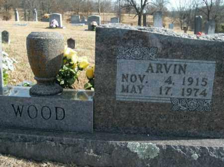 WOOD, ARVIN CLYDE - Boone County, Arkansas | ARVIN CLYDE WOOD - Arkansas Gravestone Photos