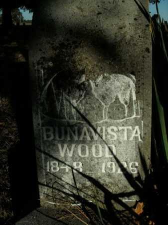 WOOD, BUNAVISTA - Boone County, Arkansas   BUNAVISTA WOOD - Arkansas Gravestone Photos