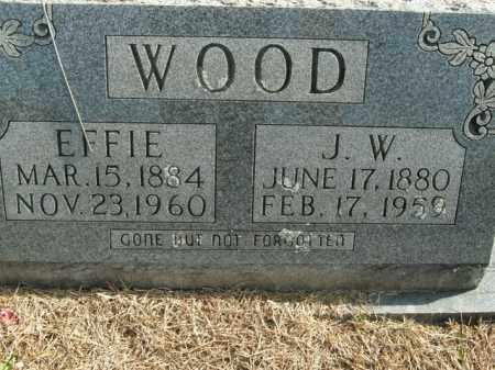 WOOD, EFFIE LELEY - Boone County, Arkansas | EFFIE LELEY WOOD - Arkansas Gravestone Photos