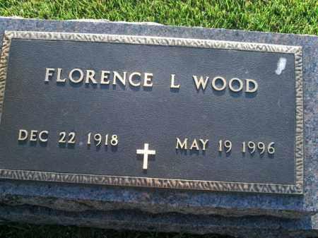 WOOD, FLORENCE L. - Boone County, Arkansas | FLORENCE L. WOOD - Arkansas Gravestone Photos