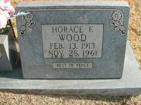 WOOD, HORACE F. - Boone County, Arkansas | HORACE F. WOOD - Arkansas Gravestone Photos