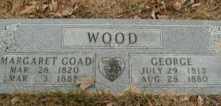 GOAD WOOD, MARGARET - Boone County, Arkansas | MARGARET GOAD WOOD - Arkansas Gravestone Photos