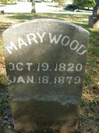 WOOD, MARY - Boone County, Arkansas | MARY WOOD - Arkansas Gravestone Photos