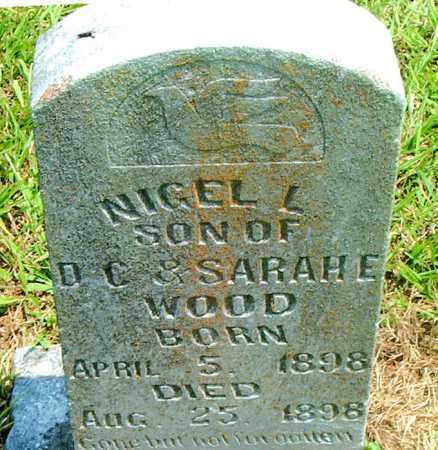 WOOD, NIGEL  L. - Boone County, Arkansas | NIGEL  L. WOOD - Arkansas Gravestone Photos