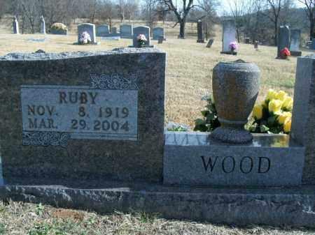 WOOD, RUBY FAYE - Boone County, Arkansas | RUBY FAYE WOOD - Arkansas Gravestone Photos