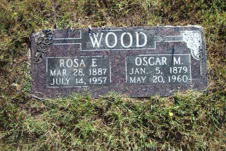 WOOD, ROSA  E. - Boone County, Arkansas | ROSA  E. WOOD - Arkansas Gravestone Photos