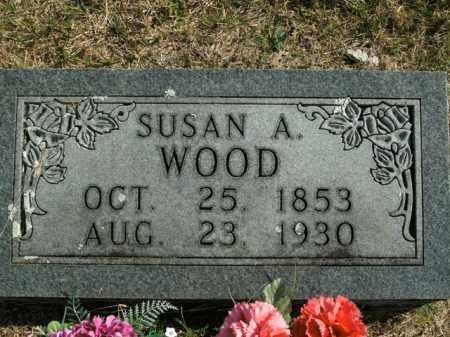 WOOD, SUSAN ANNA - Boone County, Arkansas   SUSAN ANNA WOOD - Arkansas Gravestone Photos