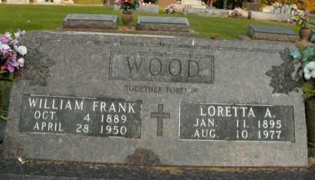 WOOD, WILLIAM FRANK - Boone County, Arkansas | WILLIAM FRANK WOOD - Arkansas Gravestone Photos