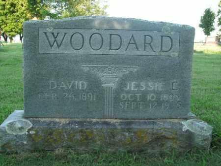 WOODARD, JESSIE L. - Boone County, Arkansas   JESSIE L. WOODARD - Arkansas Gravestone Photos