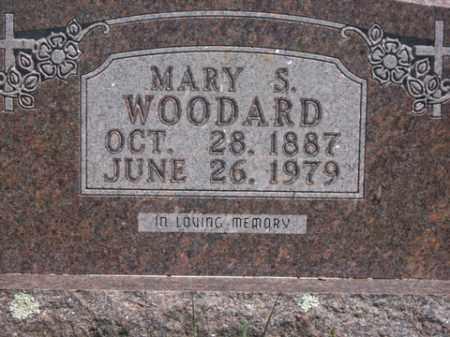 WOODARD, MARY S. - Boone County, Arkansas | MARY S. WOODARD - Arkansas Gravestone Photos
