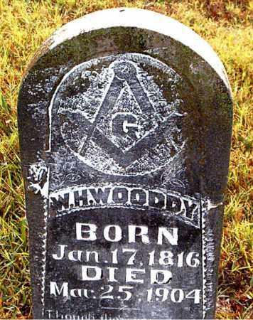 WOODDY, WILLIAM HENRY - Boone County, Arkansas   WILLIAM HENRY WOODDY - Arkansas Gravestone Photos
