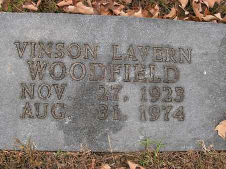 WOODFIELD, VINSON LAVERN - Boone County, Arkansas | VINSON LAVERN WOODFIELD - Arkansas Gravestone Photos