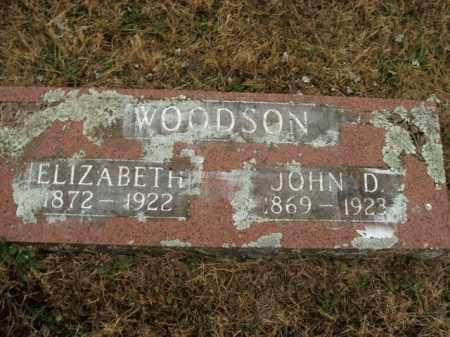 WOODSON, ELIZABETH - Boone County, Arkansas   ELIZABETH WOODSON - Arkansas Gravestone Photos