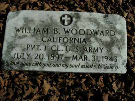WOODWARD  (VETERAN), WILLIAM B - Boone County, Arkansas | WILLIAM B WOODWARD  (VETERAN) - Arkansas Gravestone Photos