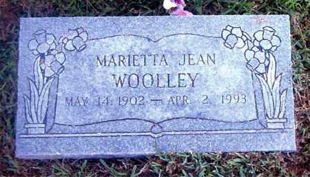 WOOLLEY, MARIETTA JEAN - Boone County, Arkansas | MARIETTA JEAN WOOLLEY - Arkansas Gravestone Photos
