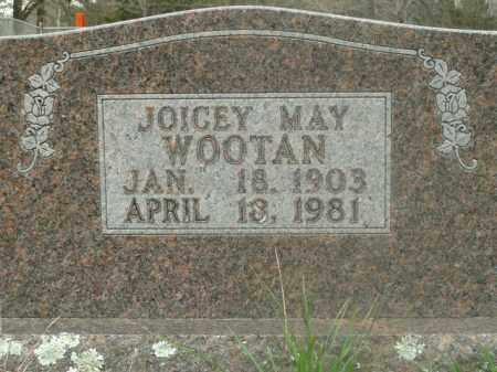WOOTAN, JOICEY MAY - Boone County, Arkansas   JOICEY MAY WOOTAN - Arkansas Gravestone Photos