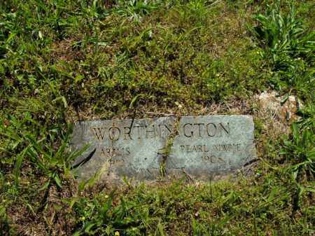 WORTHINGTON, PEARL MARIE - Boone County, Arkansas | PEARL MARIE WORTHINGTON - Arkansas Gravestone Photos
