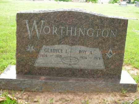 WORTHINGTON, ROY A. - Boone County, Arkansas | ROY A. WORTHINGTON - Arkansas Gravestone Photos
