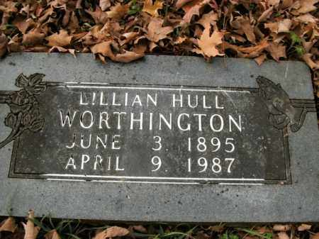 WORTHINGTON, LILLIAN - Boone County, Arkansas | LILLIAN WORTHINGTON - Arkansas Gravestone Photos