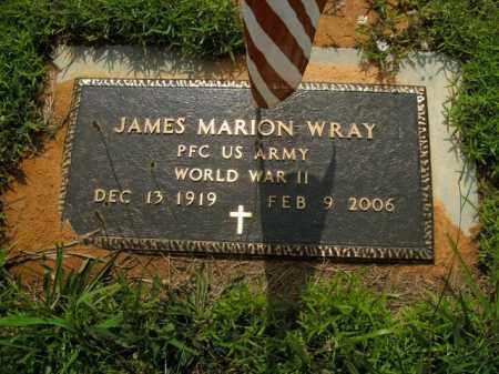 WRAY  (VETERAN WWII), JAMES MARION - Boone County, Arkansas | JAMES MARION WRAY  (VETERAN WWII) - Arkansas Gravestone Photos