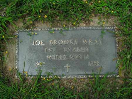 WRAY  (VETERAN WWII), JOE BROOKS - Boone County, Arkansas | JOE BROOKS WRAY  (VETERAN WWII) - Arkansas Gravestone Photos