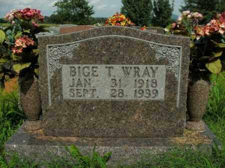 WRAY, BIGE T. - Boone County, Arkansas   BIGE T. WRAY - Arkansas Gravestone Photos