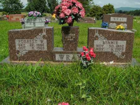 WRAY, FORREST W. - Boone County, Arkansas   FORREST W. WRAY - Arkansas Gravestone Photos