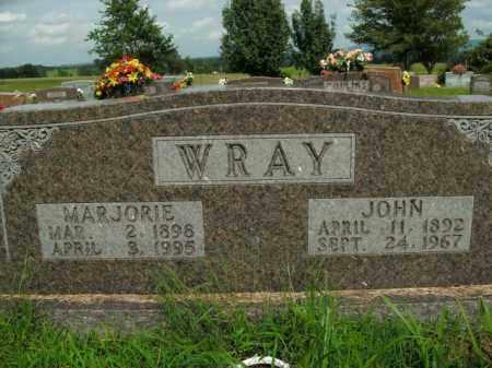 WRAY, MARJORIE - Boone County, Arkansas | MARJORIE WRAY - Arkansas Gravestone Photos