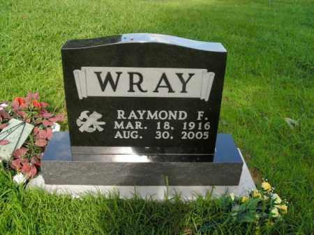 WRAY, RAYMOND FORREST - Boone County, Arkansas   RAYMOND FORREST WRAY - Arkansas Gravestone Photos