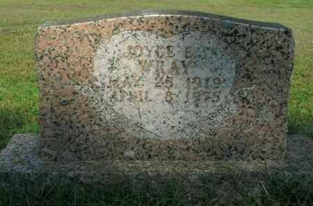 WRAY, ROYCE  E. - Boone County, Arkansas | ROYCE  E. WRAY - Arkansas Gravestone Photos