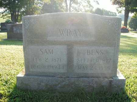 WRAY, BESS - Boone County, Arkansas | BESS WRAY - Arkansas Gravestone Photos