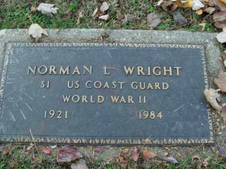 WRIGHT  (VETERAN WWII), NORMAN L - Boone County, Arkansas   NORMAN L WRIGHT  (VETERAN WWII) - Arkansas Gravestone Photos