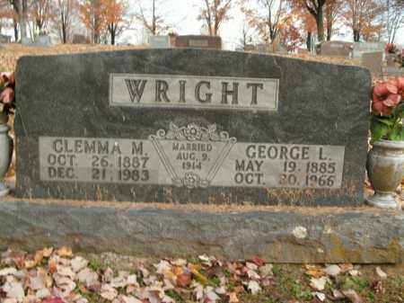 WRIGHT, GEORGE L. - Boone County, Arkansas | GEORGE L. WRIGHT - Arkansas Gravestone Photos