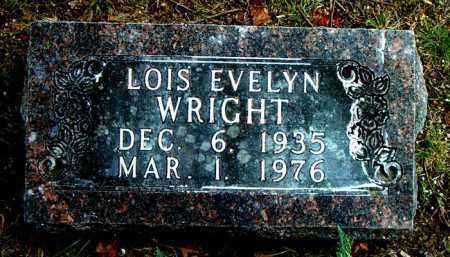 WRIGHT, LOIS EVELYN - Boone County, Arkansas | LOIS EVELYN WRIGHT - Arkansas Gravestone Photos
