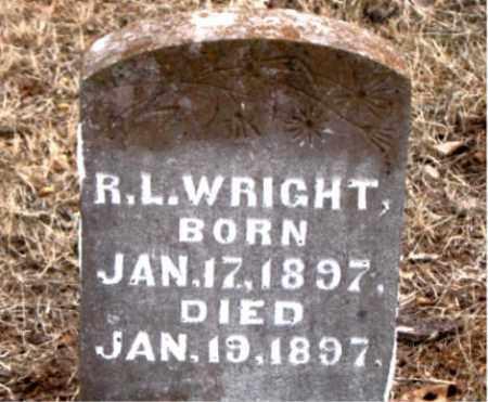 WRIGHT, R.  L. - Boone County, Arkansas   R.  L. WRIGHT - Arkansas Gravestone Photos
