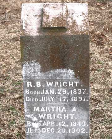 WRIGHT, R.  B. - Boone County, Arkansas   R.  B. WRIGHT - Arkansas Gravestone Photos