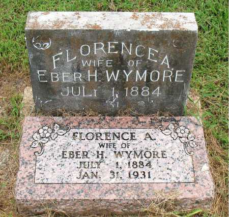 REED WYMORE, FLORENCE A. - Boone County, Arkansas | FLORENCE A. REED WYMORE - Arkansas Gravestone Photos