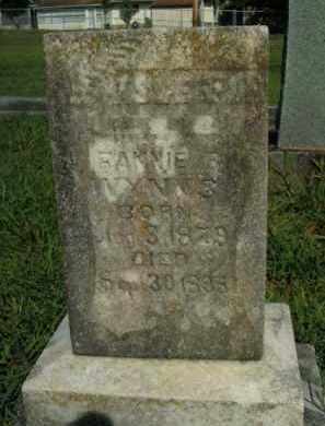 WYNN, FANNIE B. - Boone County, Arkansas | FANNIE B. WYNN - Arkansas Gravestone Photos