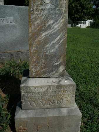 WYNN, LULU - Boone County, Arkansas | LULU WYNN - Arkansas Gravestone Photos