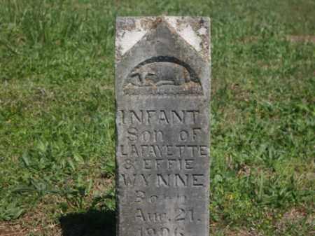 WYNNE, INFANT SON - Boone County, Arkansas | INFANT SON WYNNE - Arkansas Gravestone Photos
