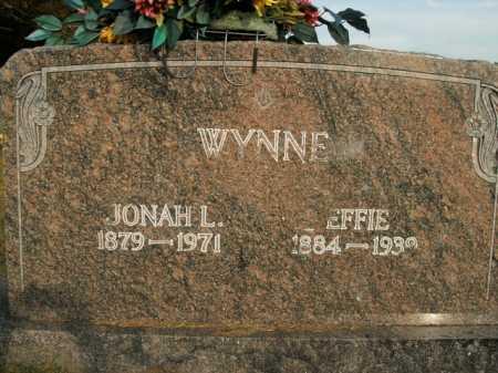 WYNNE, JONAH LAFAYETTE - Boone County, Arkansas   JONAH LAFAYETTE WYNNE - Arkansas Gravestone Photos