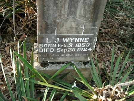 WYNNE, L.J. - Boone County, Arkansas | L.J. WYNNE - Arkansas Gravestone Photos