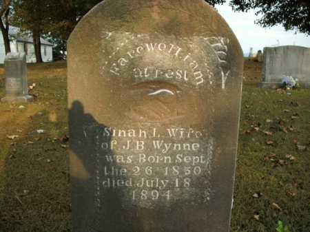 WYNNE, SINAH L. - Boone County, Arkansas | SINAH L. WYNNE - Arkansas Gravestone Photos