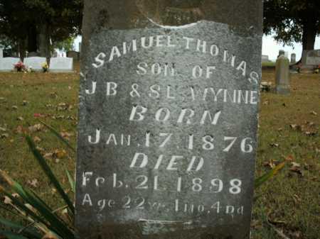 WYNNE, SAMUEL THOMAS - Boone County, Arkansas | SAMUEL THOMAS WYNNE - Arkansas Gravestone Photos